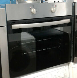 c709 stainless steel & black cda single electric oven comes with warranty can be delivered