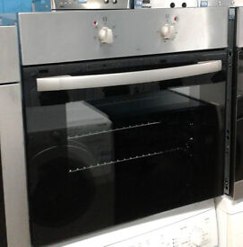 a709 stainless steel and black cda single electric oven comes with warranty can be delivered