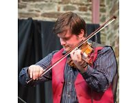 Violin/fiddle lessons for all ages and abilities