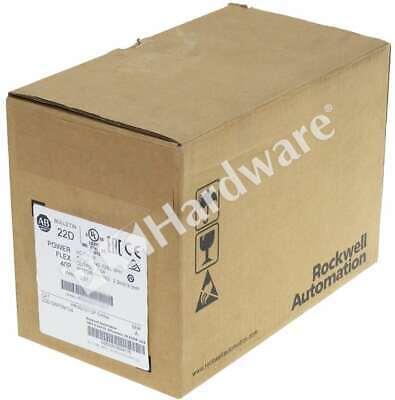 New Sealed Allen Bradley 22d-d6p0n104 A Powerflex 40p Ac Drive 480vac 3-p 6a