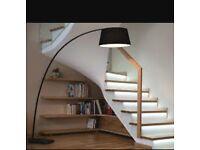 Like new designer Floor Lamp RRP: £230