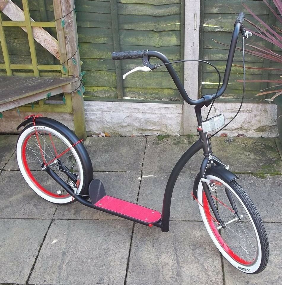 VERY RARE GERMAN SPRICK CUSTOM CHOPPER SCOOTER  absolutely stunning and so  much fun  | in Solihull, West Midlands | Gumtree