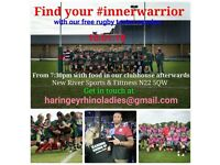 Haringey Rhino Ladies Women Rugby Taster Session New Year New Sport Inner Warrior