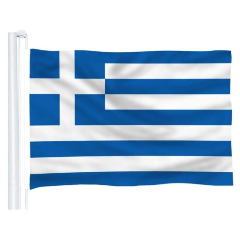 Large Greece Greek 90cm x 150cm National Flag Wedding Festival Banner Sport