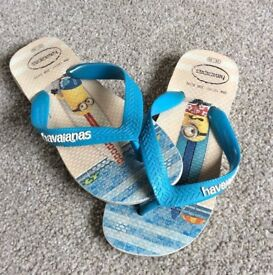 Childrens Flip-Flops - Sandals. Size- UK- Size 12 (29/30...18cm)