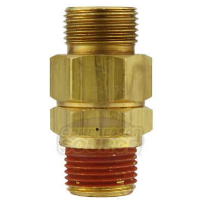 Ca-6 Load Genie Brass Air Compressor 14 X 38 Self Unloading Check Valve New