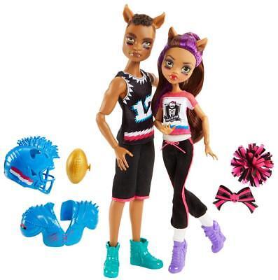 Monster High - Monster High Winning Werewolves Doll - Clawdeen Wolf and Clawd Wolf