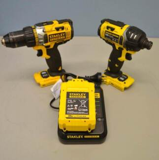 Stanley 18V Hammer Drill/ Impact Driver Combo