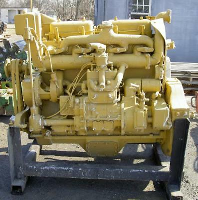 Caterpillar D8800 3t Complete Diesel Engine Fits D7 Cat  Rare Restore W