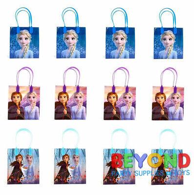Disney Birthday Parties (Disney Frozen 2 Favor Bag Goodie Goody Gift Loot Bags Party Supplies)