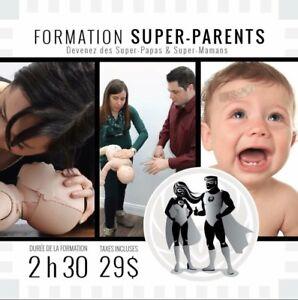 RCR et premiers soins pour parents