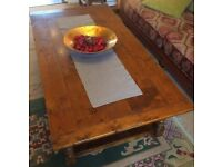 Royal Oak coffee table -A lovely table in antique distressed effect.