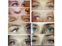 Minx Silk Eyelash Extensions Russian Butterfly lashs Cuccio gel nails Spray tanning Body Wraps