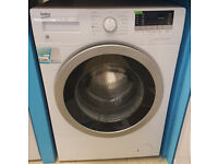 b173 white & silver beko 8kg 1400spin washing machine comes with warranty can be delivered