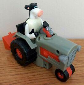 Rare 2006 Barnyard movie Otis toy