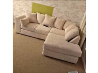 ✔✔ EXPRESS DELIVERY ✔✔ BYRON JUMBO CORDED CORNER SOFA OR 3+2 SOFA SET AVAILABLE NOW IN STOCK