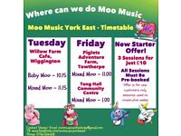 Moo Music 0-5 year olds
