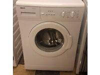 453 white beko 5kg 1000spin washing machine comes with warranty can be delivered or collected