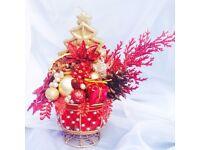 Modern Hand- Christmas decoration for your Christmas table