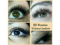 Russian XD Volume Semi Permanent & LVL Lashes Offer