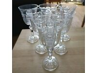 BOHEMIA crystal wine glasses