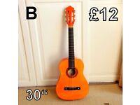 Acoustic Guitar (B) Junior 30 ins