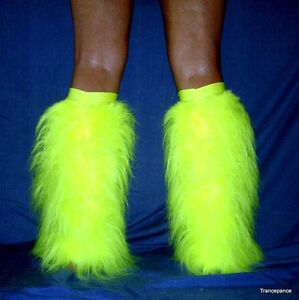 Ready Made Fluffies Fluffy Furry Legwarmers Boots Covers Rave Furries