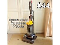 Dyson DC33 All Floors Vacuum Cleaner + Tools