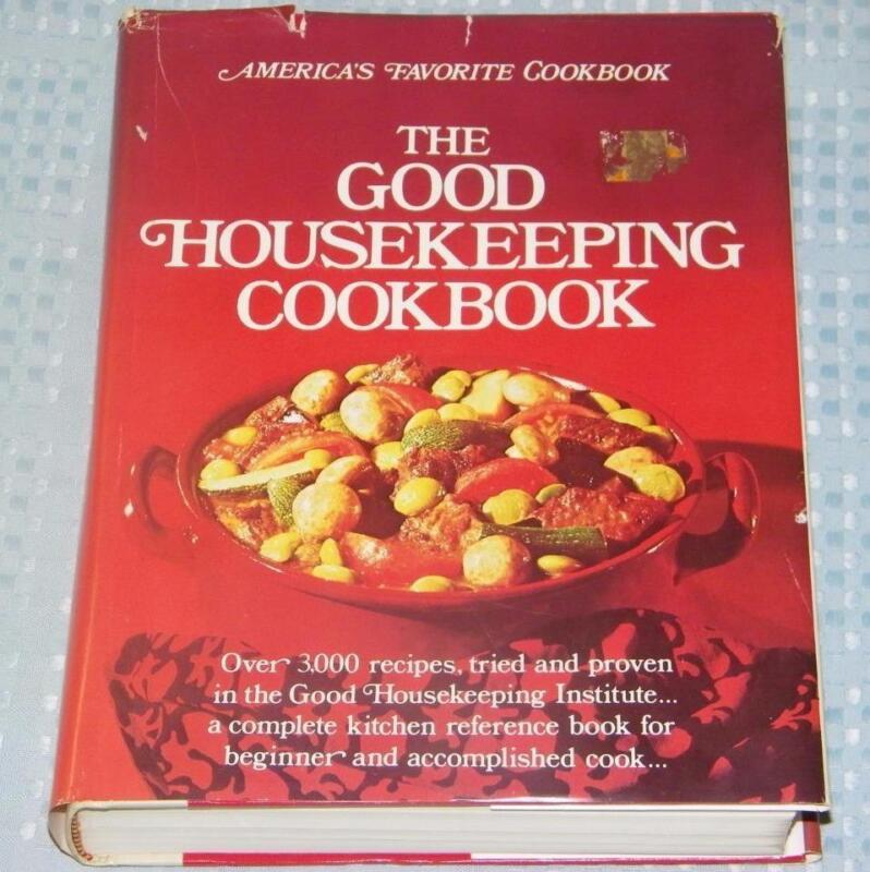 America's Favorite -- 1973 THE GOOD HOUSEKEEPING COOKBOOK