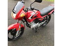 Yamaha YBR125, 2007 - 3579 miles