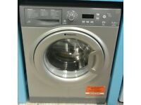 a604 graphite hotpoint 7kg 1400spin washing machine come with warranty can be delivered or collected