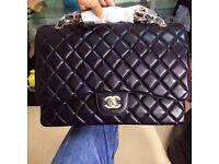Chanel Maxi 33cm Caviar Leather Flap Bag