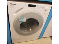 b695 white miele 6kg 1200spin washing machine comes with warranty can be delivered or collected