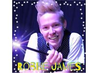 Robbie James - Magician and Entertainer