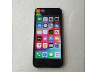 APPLE IPHONE 5S 16GB SPACE GRAY UNLOCKED TO ALL NETWORKS WITH RECEIPT