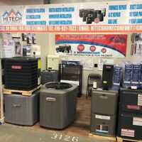 GET NEW AIR CONDITIONER $2350, FURNACE $1950 INSTALLED