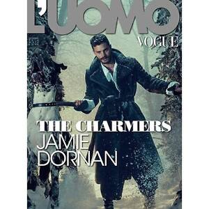 L'uomo Vogue Magazine October 2016 Jamie Dornan NEW