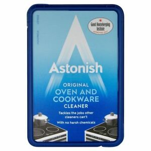 1X Astonish Original Oven & Cookware Cleaner Cleaning Product C3105 No Gloves