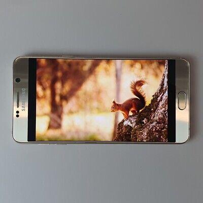 Samsung Galaxy Note5 Gold SM-N920 32GB Unlocked Single sim Screen Burn-in