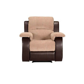 Reclining armchair - nearly new