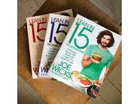 Lean in 15 The Body Coach Joe Wicks all 3 books