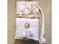 Mamas & Papas Cot Bedding & Mobile
