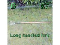 Long Handled Fork