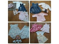 NEXT : Huge bundle: Girls Baby Clothes; Up to 3mth*Excellent Condition*From a smoke free clean home*