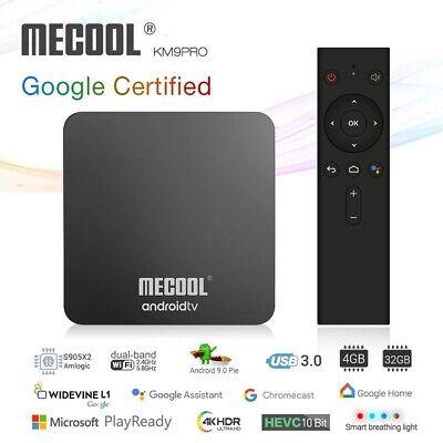 MECOOL KM9 pro Android 9.0 TV Box 4G, 32GB