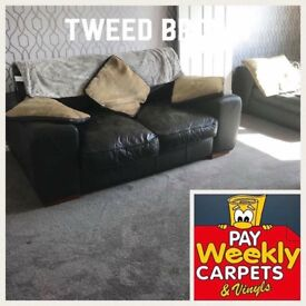 Pay weekly carpets and vinyls