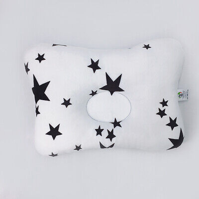 Newborn Baby Pillow 3-Dimentional Air Mesh& Washable Cotton for Flat Head Star