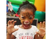 *EXPERIENCED, INSURED & RELIABLE FACE PAINTER /PAINTING /GLITTER TATTOOS /SPECIAL EFFECTS MAKEUP *