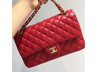 Chanel Jumbo Lambskin Flap Bag 30cm