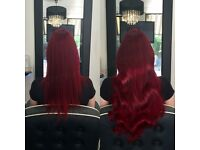 Mobile hairdresser based in London & Essex - Tape extensions, LA weave, Micro extensions